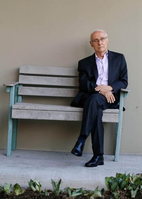 De sus años como actor, Guido Sáenz conservó el histrionismo que muestra en cualquier conversación.