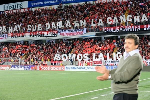 Óscar Ramírez es el técnico más exitoso en la historia de Alajuelense. Fotografía: Rafael Pacheco