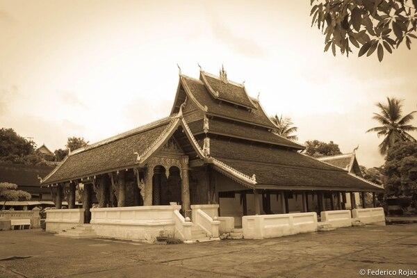Esta es parte de la belleza de Xayaburi, en Laos. Fotografía: Federico Rojas Chavarría