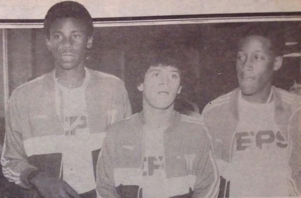 Javier Wanchope, Carlos Rossés y Hernán Medford jugaron el mundial infantil China 85.