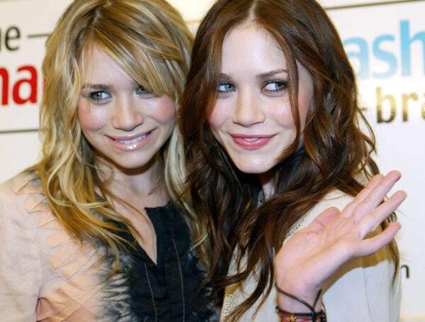 Cambios.Mary-Kate y Ashley Olsen han acaparado la atención de la prensa por el tema de su delgadez y su necesidad de recurrir a cirugías plásticas. Archivo