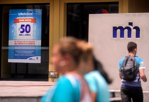 La lotería fiscal busca incentivar el uso de tarjetas de débito y crédito.