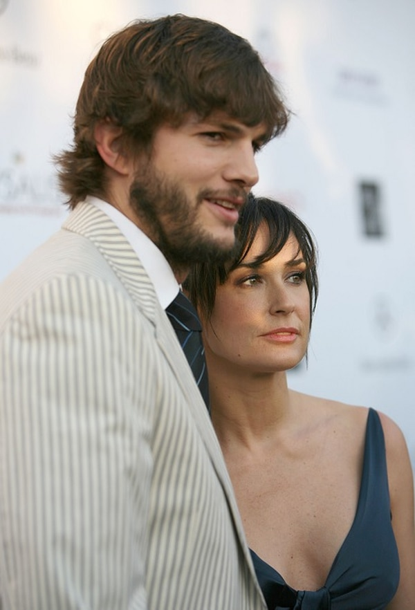 Demi Moore y Ashton Kutcher se casaron en septiembre del 2005 y la actriz anunció que se habían separado en noviembre del 2011.