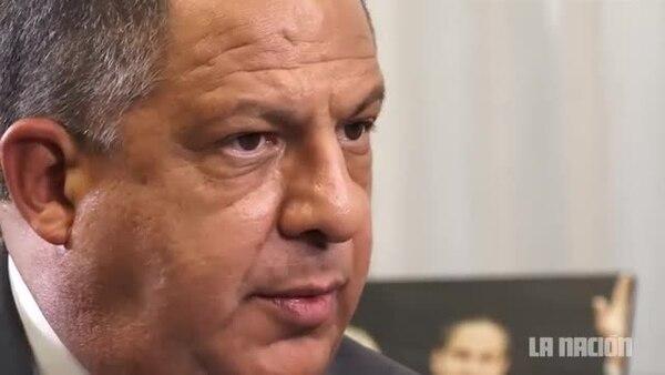 Luis Guillermo Solís: 'Morales Zapata no es mi embajador en la Asamblea'