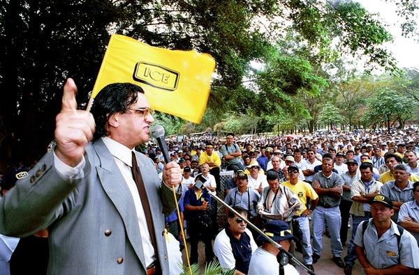 José Merino (ya fallecido) fue uno de los opositores principales al proyecto.