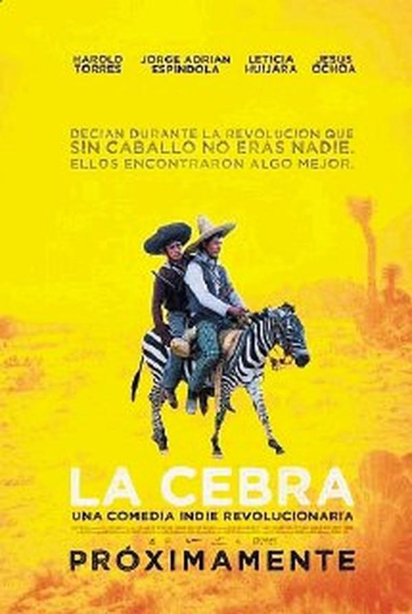 Afiche del filme mexicano La cebra (2011), de Fernando León.Archivo