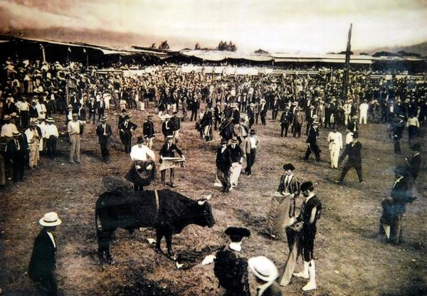 Antes de trasladarse Zapote, las fiestas josefinas se hacían en Plaza González Víquez.