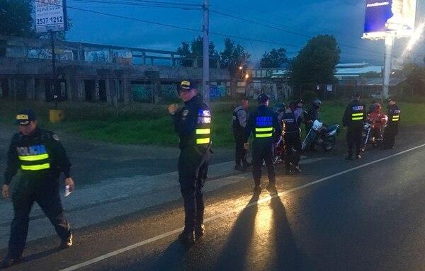 En el megaoperativo del miércoles la Policía de Tránsito sacó de circulación 68 motos por presentar irregularidades. Foto: MSP