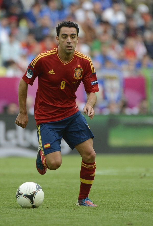 Xavi Hernández jugará su último Mundial en Brasil 2014.