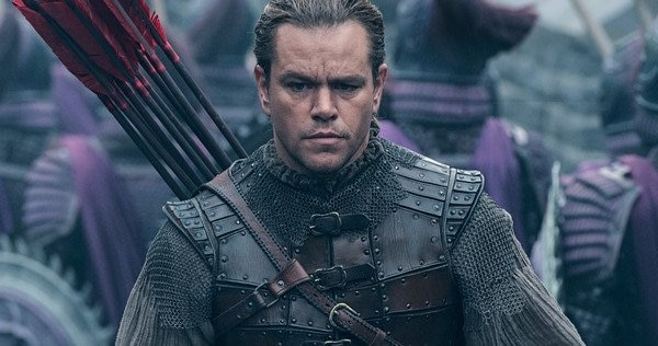 Matt Damon protagoniza 'La Gran Muralla', dirigida por Zhang Yimou.