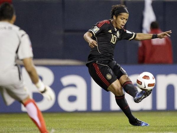 Giovani Dos Santos le anotó a Keilor Navas en la Copa Oro. | ARCHIVO