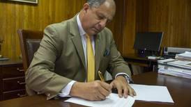 ONU reconoce como válido decreto de Solís para regular la FIV