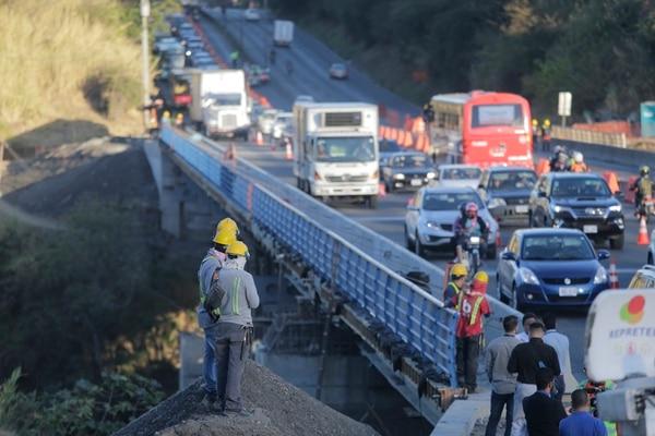 El 20 de marzo fueron habilitados tres carriles del puente de la 'platina'.