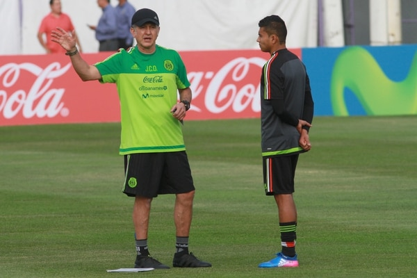 Juan Carlos Osorio, técnico de la Selección de México.