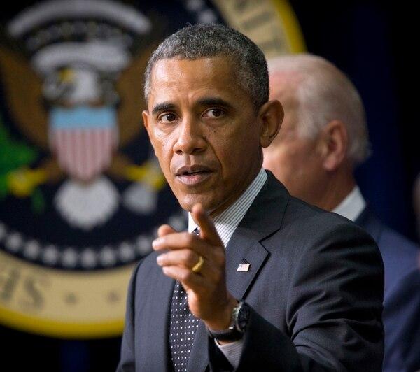 Obama: 'Tipos pueden almacenar un montón de municiones'. | AP