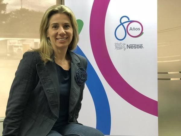Marina Ripper, Gerente de País de Nestlé Costa Rica. Foto cortesía Nestlé