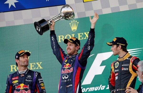 Sebastián Vettel / AP