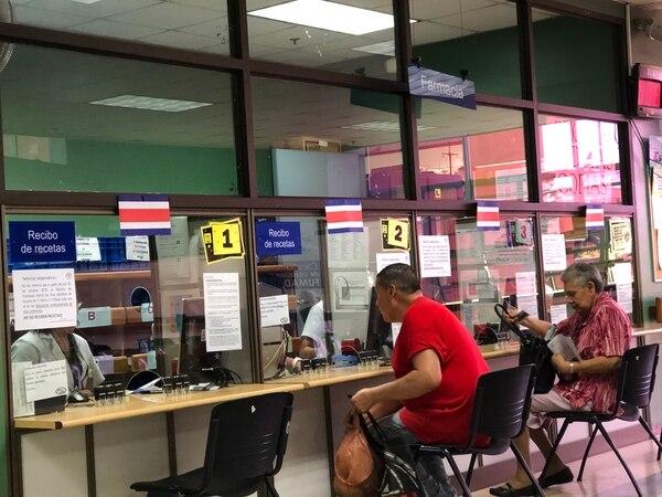Asegurados tendrán un día más por semana para retirar medicamentos. Foto: Prensa CCSS.