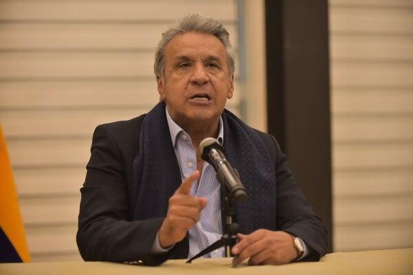 El presidente de Ecuador, Lenín Moreno (foto: Rodrigo BUENDIA).