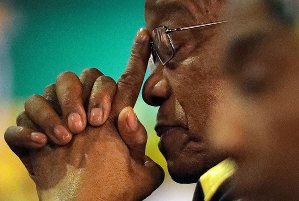 Jacob Zuma, expresidente de Sudáfrica. Foto: AP