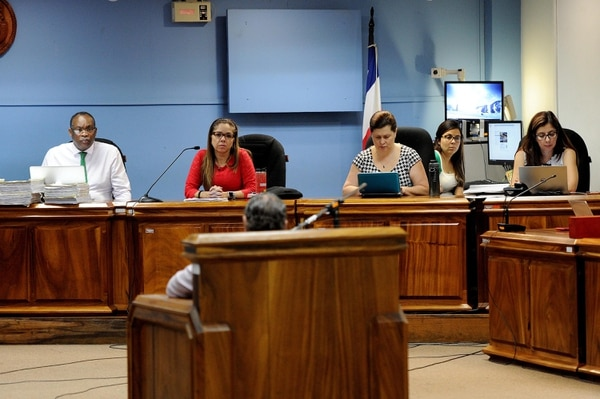 El juicio por trata de personas para extracción ilícita de órganos se realizó de setiembre a noviembre. La sentencia se leyó el 4 de diciembre. MELISSA FERNÁNDEZ