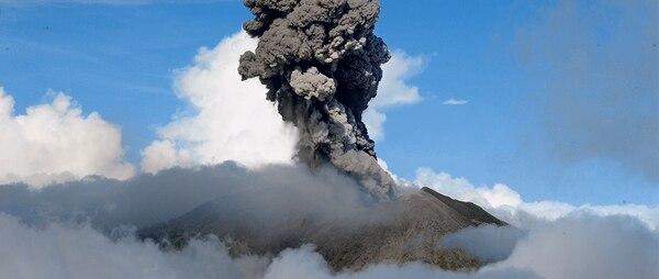 Volcán Turrialba. 12 de marzo de 2015