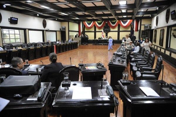 El plenario aún no discute el procedimiento que se usará para finalizar el trámite del proyecto de reforma al Código Procesal Laboral, vetado por la presidenta Laura Chinchilla.