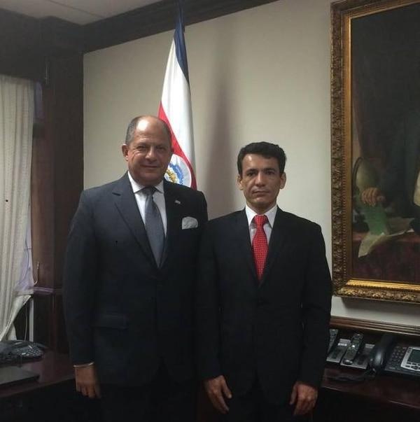 Roberto Zamora fue destituido este viernes como embajador de Costa Rica en Corea.