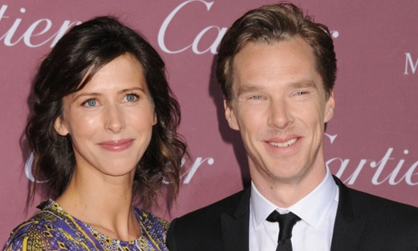 Benedict Cumberbatch y Sophie Hunter anunciaron que esperan un hijo.