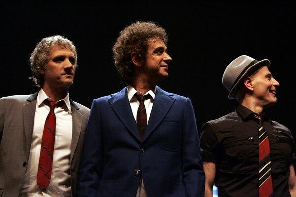 El concierto de despedida de Soda Stereo estaba pactado para ser en abril de este año, luego se pasó a octubre y finalmente se canceló. Foto: Archivo.