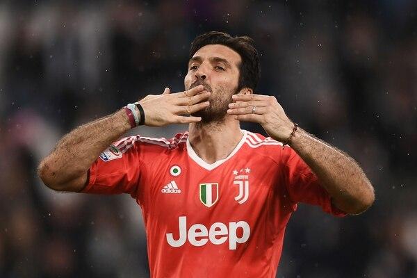Gianluigi Buffon tras un partido de la Juventus contra el Sampdoria. Foto: AFP / MARCO BERTORELLO