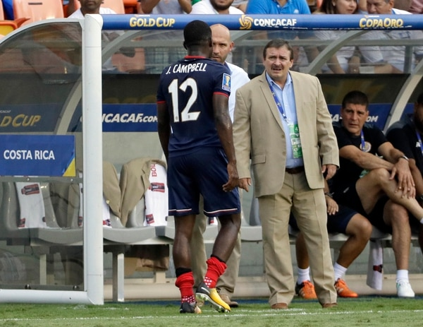 Costa Rica sufrió con las lesiones en Copa Oro 2017. Joel Campbell fue uno de los caídos.