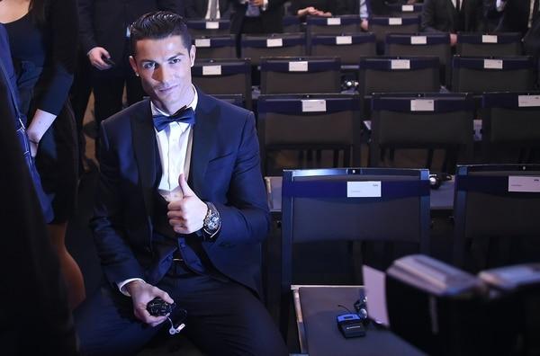 Cristiano Ronaldo disfruta su momento.