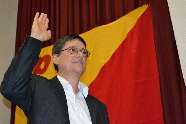 Olivier Pérez, presidente del PAC, dijo que hoy en la tarde el TEI comunicará oficialmente la resolución de adelantar la convención. | ARCHIVO