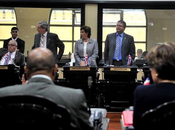 Luis Fishman, Gloria Bejarano y Rodolfo Sotomayor se opusieron al plan fiscal; desacuerdos en esos temas preocupan a las calificadoras. | ARCHIVO