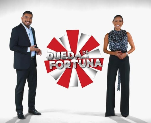 Arie García y Nancy Dobles serán los conductores de 'La Rueda de la Fortuna', ya casi en Canal 7. Foto Cortesía