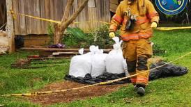 Sujeto abandona vehículo con 40 kilos de cianuro en Los Chiles
