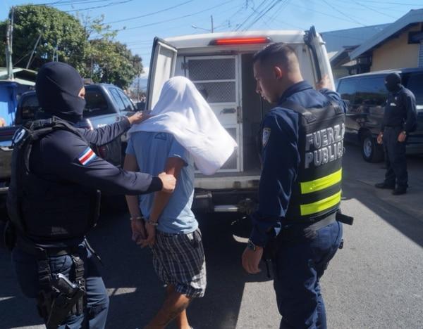 El sospechoso es de apellidos Gómez Corea de 28 años. Foto de MSP