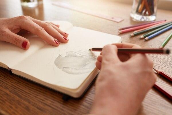 Según la investigación, la joven realizaba los dibujos y luego los compartía en un blog. Foto: Shutterstock