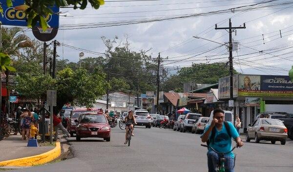 En la foto, el centro de Sarapiquí. Fotos: Mayela López