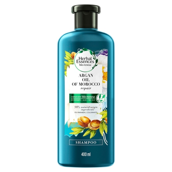 Champú con aceite de argán de Marruecos. Herbal Essences
