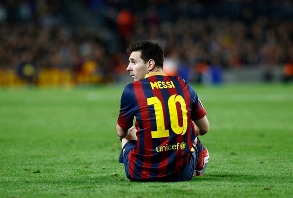 Messi se lesionó la pierna izquierda en noviembre pasado. | ARCHIVO
