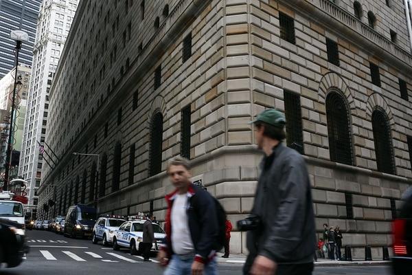 Edificio de la Reserva Federal en Nueva York.