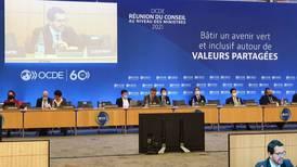 Costa Rica expone crecimiento inclusivo y desafío climático en cita ministerial de OCDE