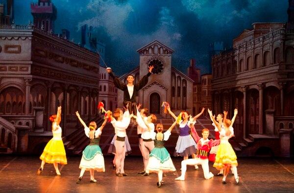 Muy coloridos y elegantes son los montajes del Russian Classical Ballet. Cortesía de Interamericana Producciones