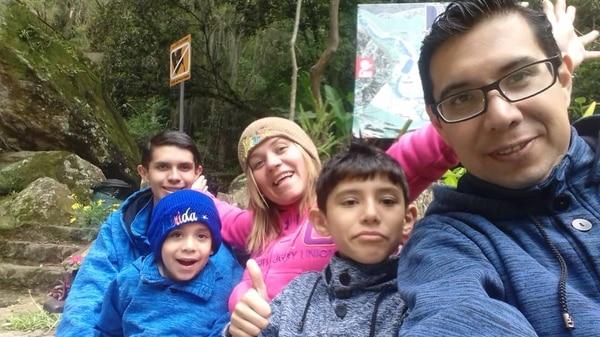 Alexandra Arias, una costarricense quien reside con su familia en Venezuela, relató a La Nación el drama que viven por la crisis en ese país. Foto: Alexandra Arias.