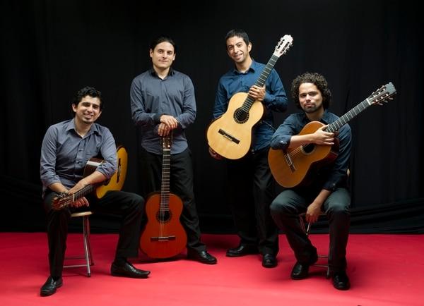 El Cuarteto de Guitarras fue fundado en el 2008. Foto: Teatro Nacional/ LN