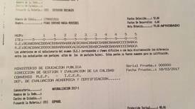 Primera dama logra 88 en Español y 95 en Estudios Sociales en pruebas para ciudadanía