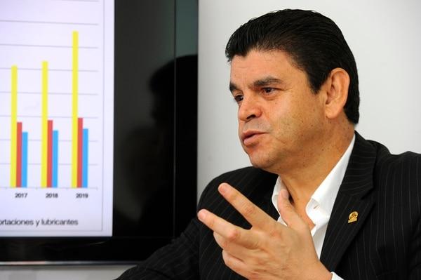 Rónald Jiménez, de Uccaep: 'Las críticas se mantienen'.   ARCHIVO