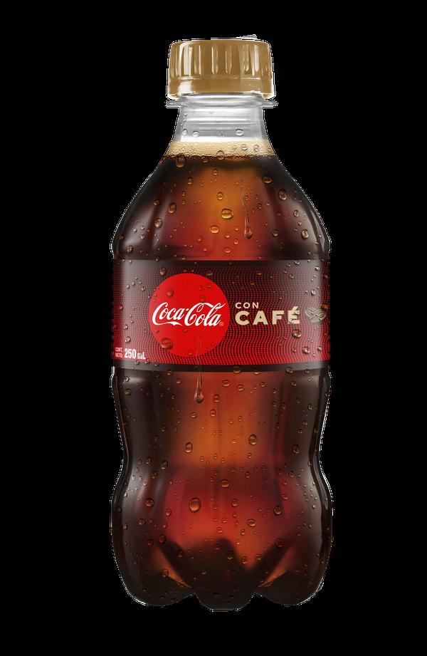 Nueva Coca Cola con café.